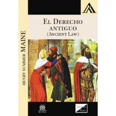 DERECHO ANTIGUO. ANCIENT LAW. PARTE GENERAL